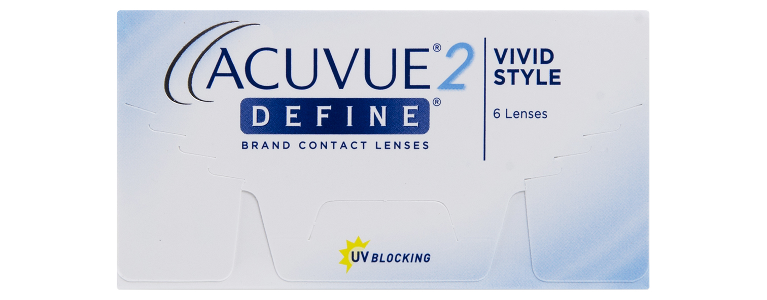 Acuvue 2 Define contact lenses