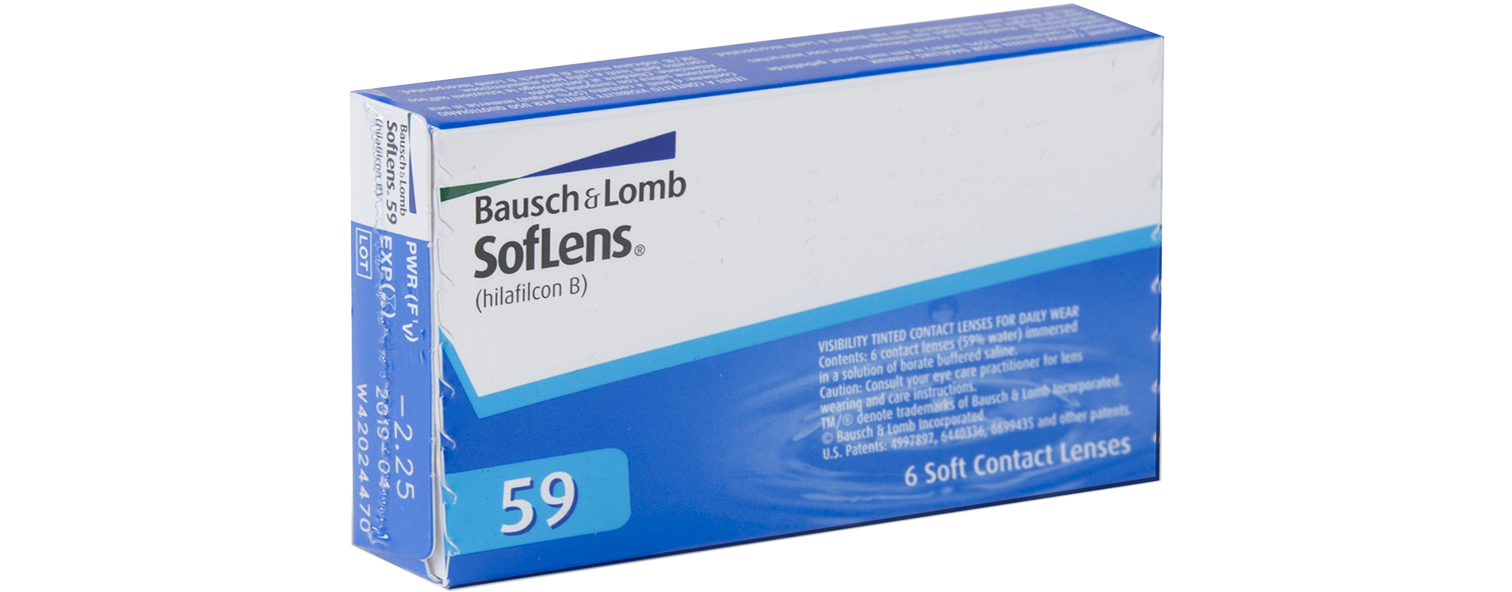 SofLens 59 contact lenses