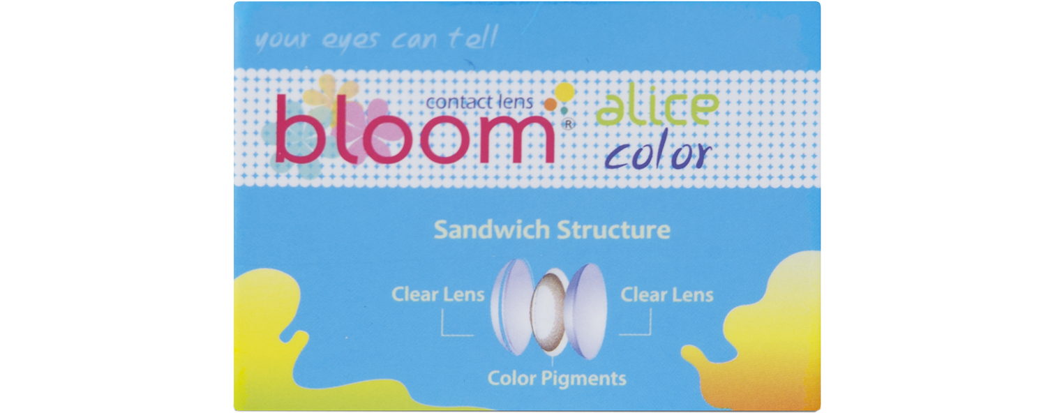Alice Bloom contact lenses