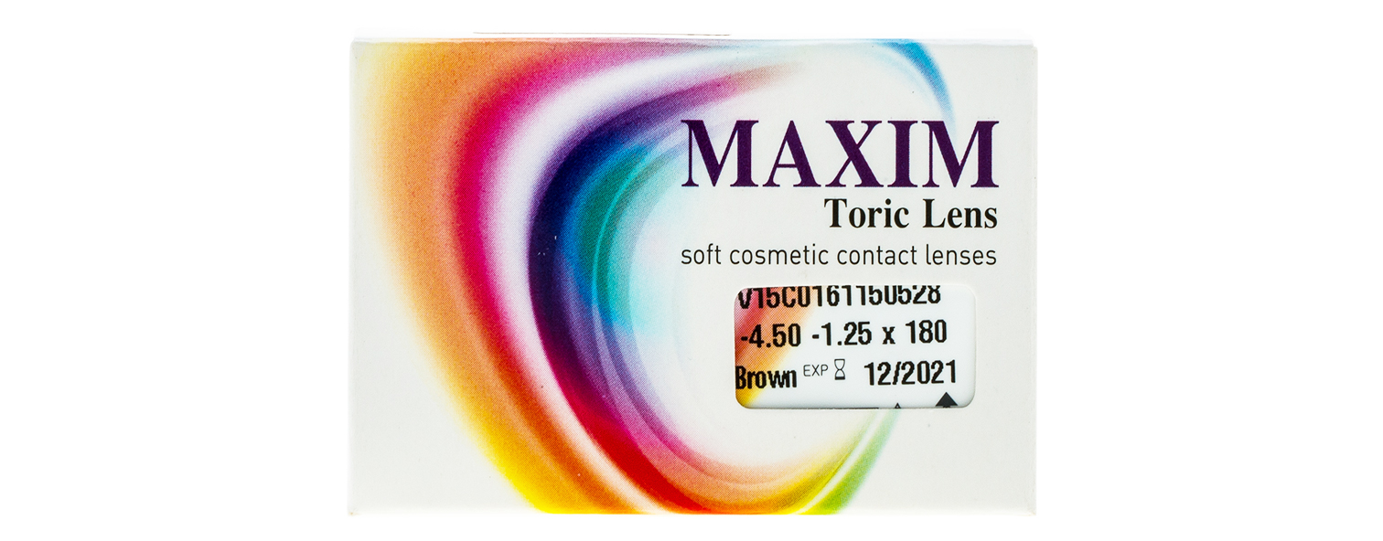 Maxim Color Toric contact lenses