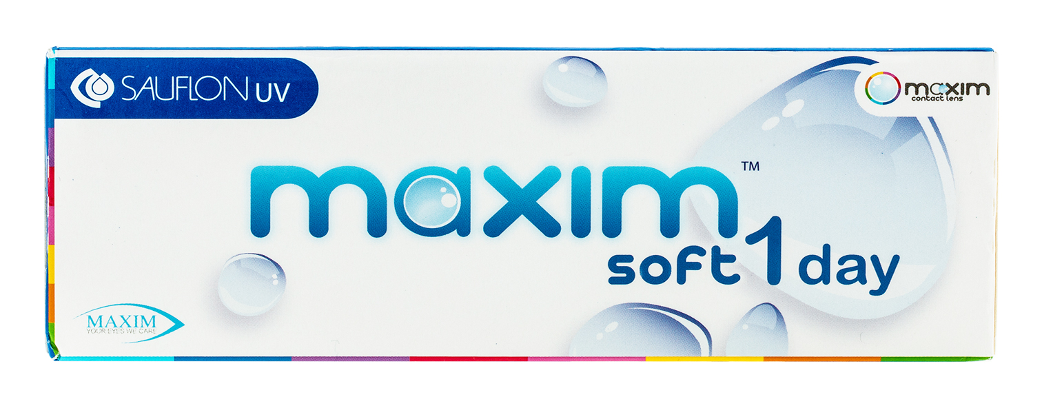 Maxim Soft 1 Day contact lenses